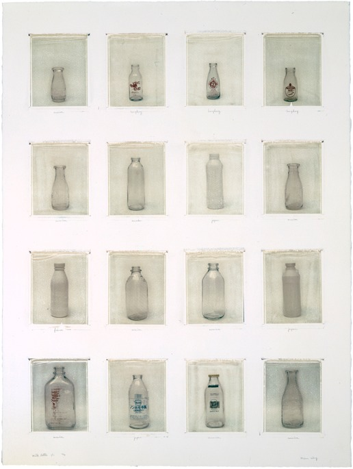 milk bottles collections